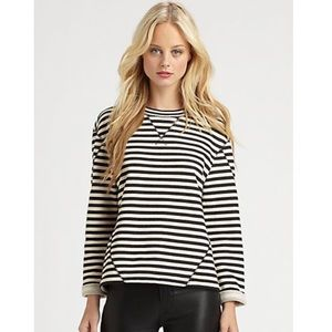 Marc by Marc Jacobs Ben Stripe Terry Top - M